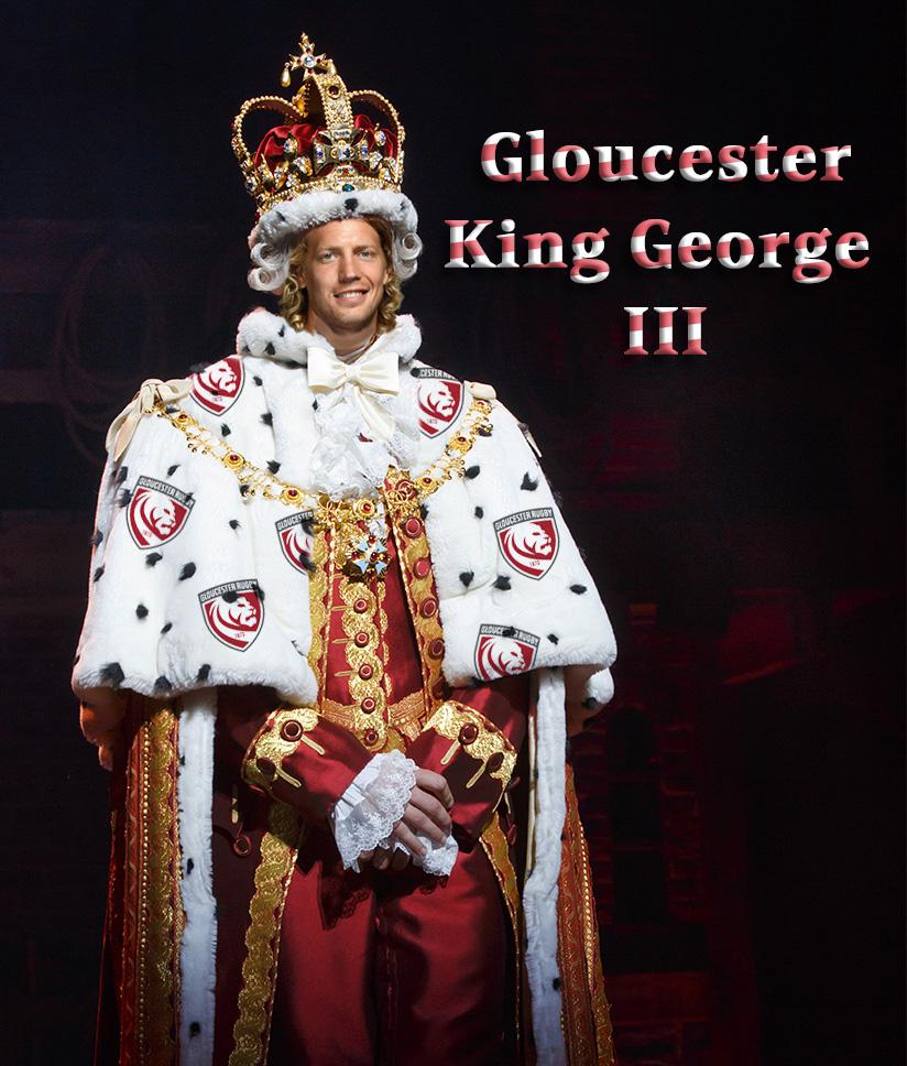 Gloucester as King George III