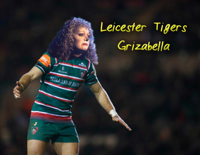 Leicester Tigers as Grizabella