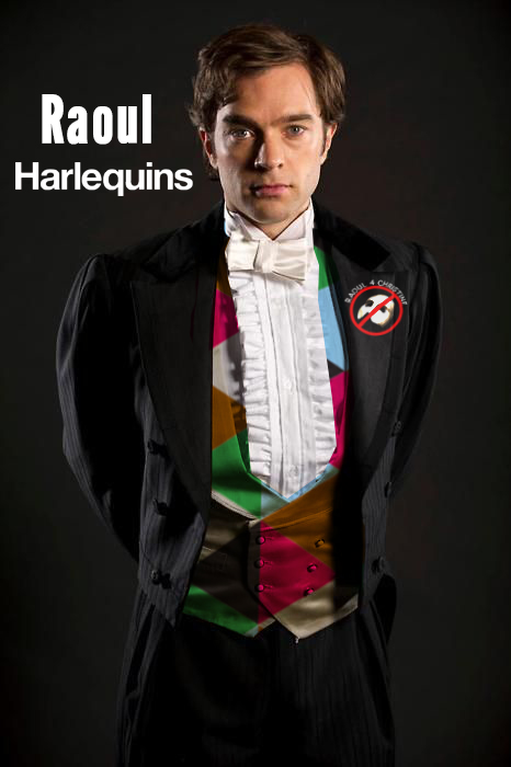 Harlequins as Raoul